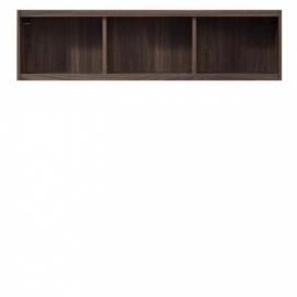 Полиця настінна Gerbor Опен SFW/120 118,5х32х24 горіх каліфорнійський