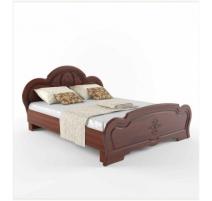 Ліжко двоспальне Сокме Кароліна+ламель 160х200 вишня портофино