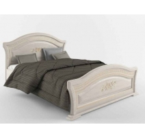 Ліжко двоспальне Сокме Венера Люкс+ламель 160х200 береза