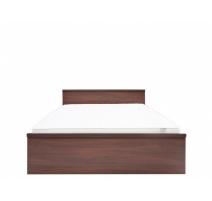 Ліжко двоспальне BRW Джулі+ламель 160х200 акація бронз