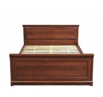 Ліжко двоспальне Gerbor Соната+ламель 180х200 каштан