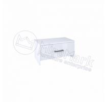 Рома Приліжкова тумба Miromark 1шх. 600х350х360 білий глянець